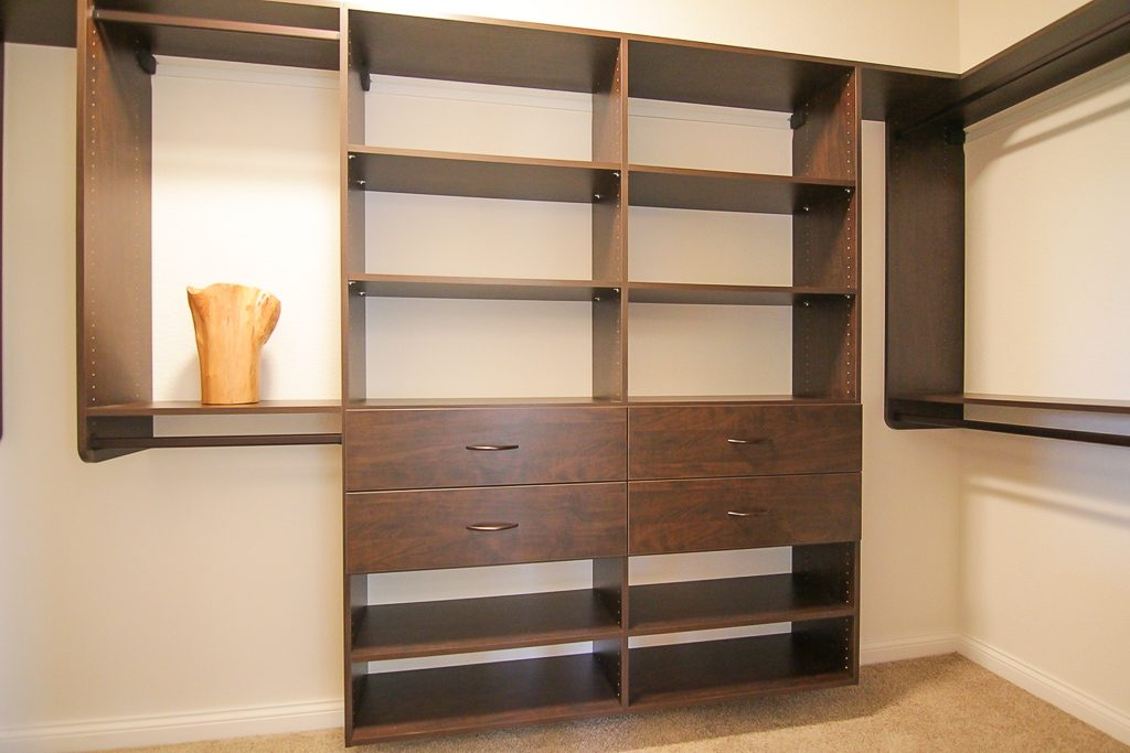 closets, custom, shelving, new home