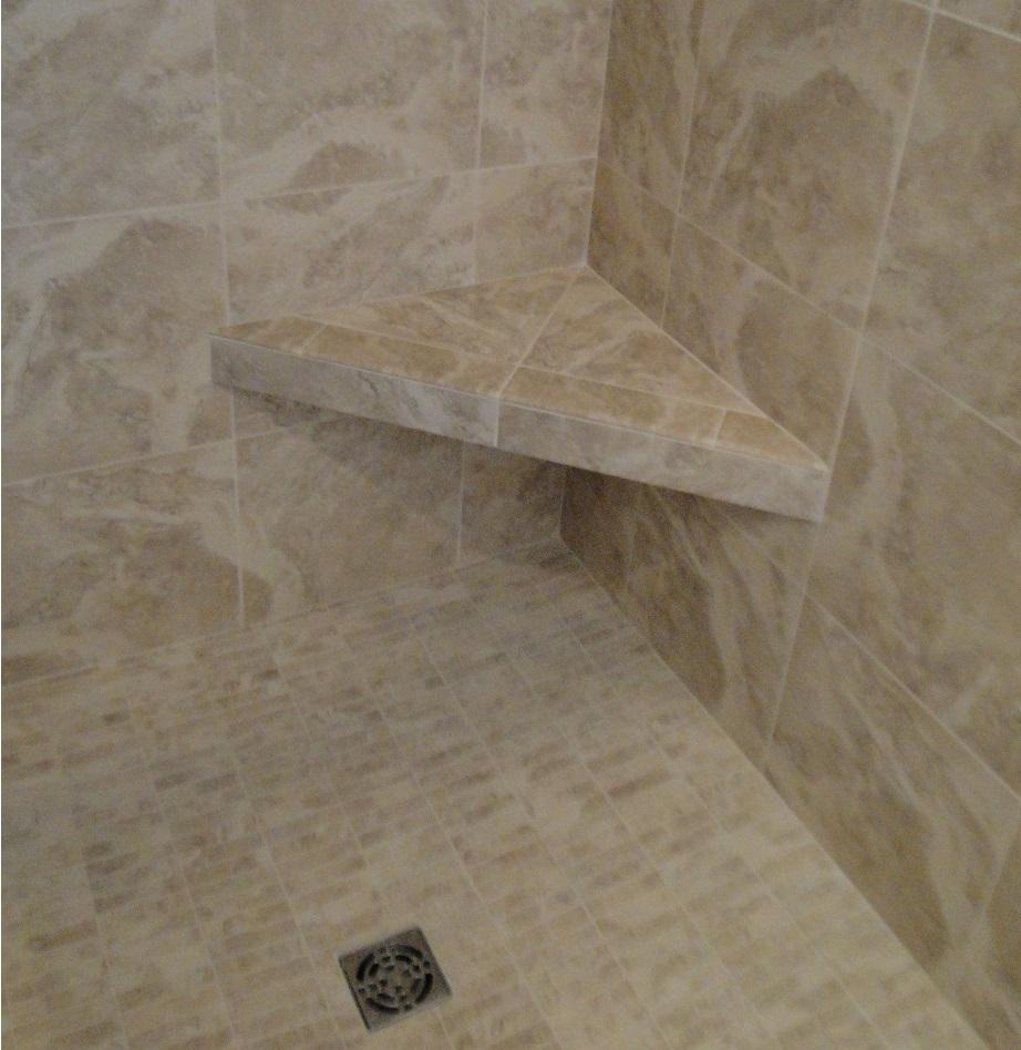 shower, tile, custom home