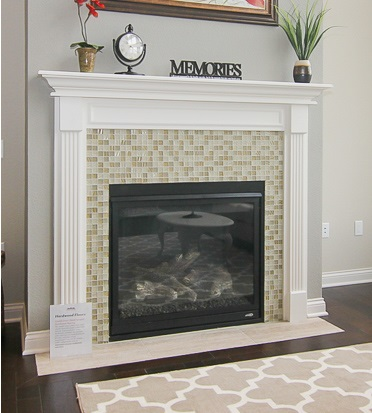 tile, fireplace, mantle