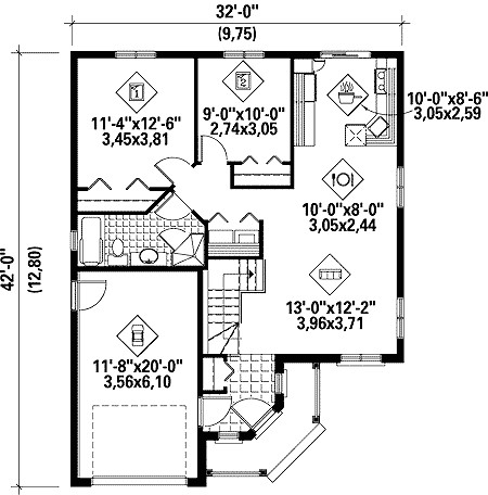 Industrial House Floor Plan in addition Southwestern House Plans as well Luxury House Plans One Story Html together with Small Half Bathroom Floor Plans additionally Small Bathroom Plans. on bedroom addition plans