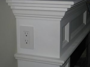 outlet mantle
