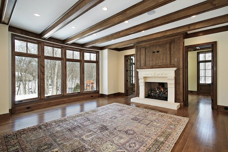 What kind of ceilings to include in your house plans for Adding beams to ceiling