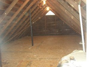 custom build, storage, attic,