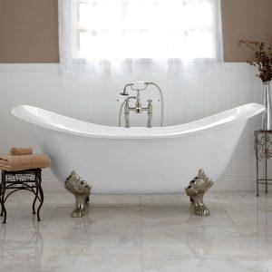 clawfoot tub, bathroom remodel, house plans