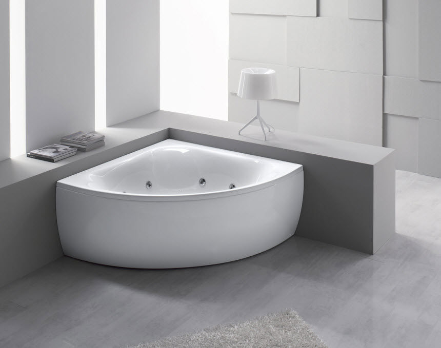 What different types of tubs are there to use in your for How deep is a normal bathtub