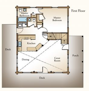 house plans, DeForest House plans; Madison house plans