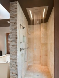 shower music, shower stereo, building Waunakee, Sun Prairie