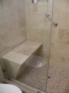 custom shower, shower design