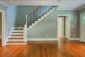 stairs, stairwell, landing, railing, house plans, home plans, home design,