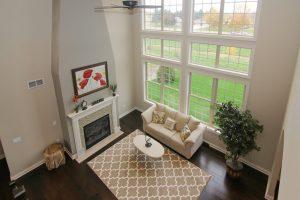 open floor plan, windows, light, great room, house plans, building, Madison,