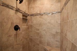 home trends, bath, tile work, shower