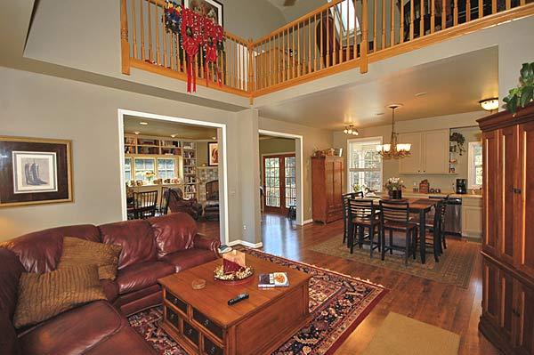 Living Rooms Design Custom Homes