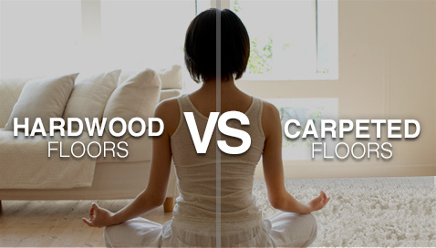 Hardwood Floors Vs Carpets