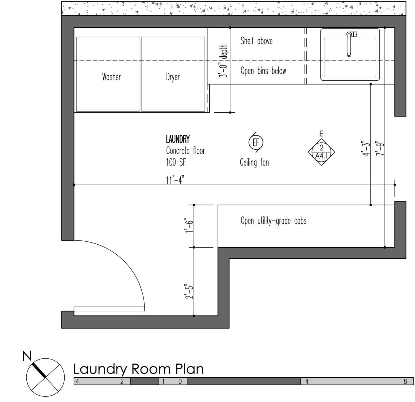 Mud Laundry Room Combo Design Custom Homes of Madison