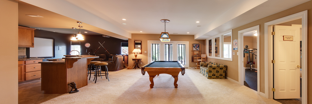Multipurpose Basement — A Place For All Things