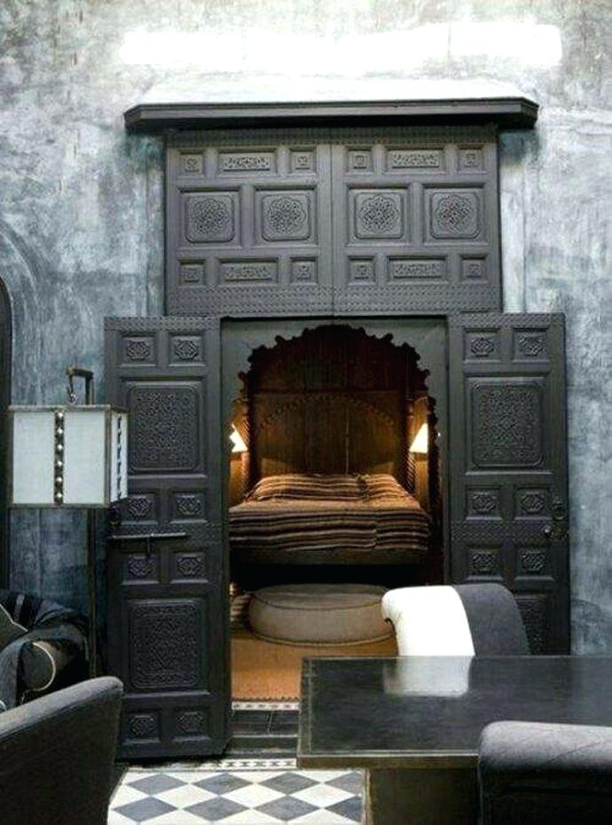 The Bat Cave – Secret Rooms and Movable Bookcases