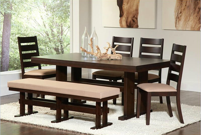 Trend Alert: Dining Benches